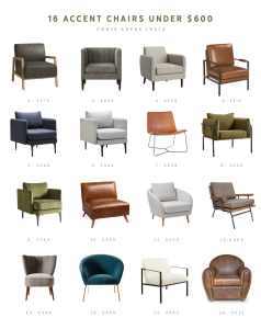 14 Popular Living Room Layouts Accent Chairs Under 600
