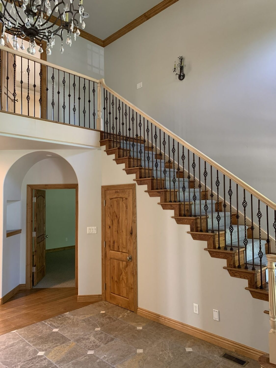 The Top Staircase Railing Inspiration Photos We Re Using To Design | Black And White Staircase Railing | Colour Combination | House | Indoor | 1920'S | Floors