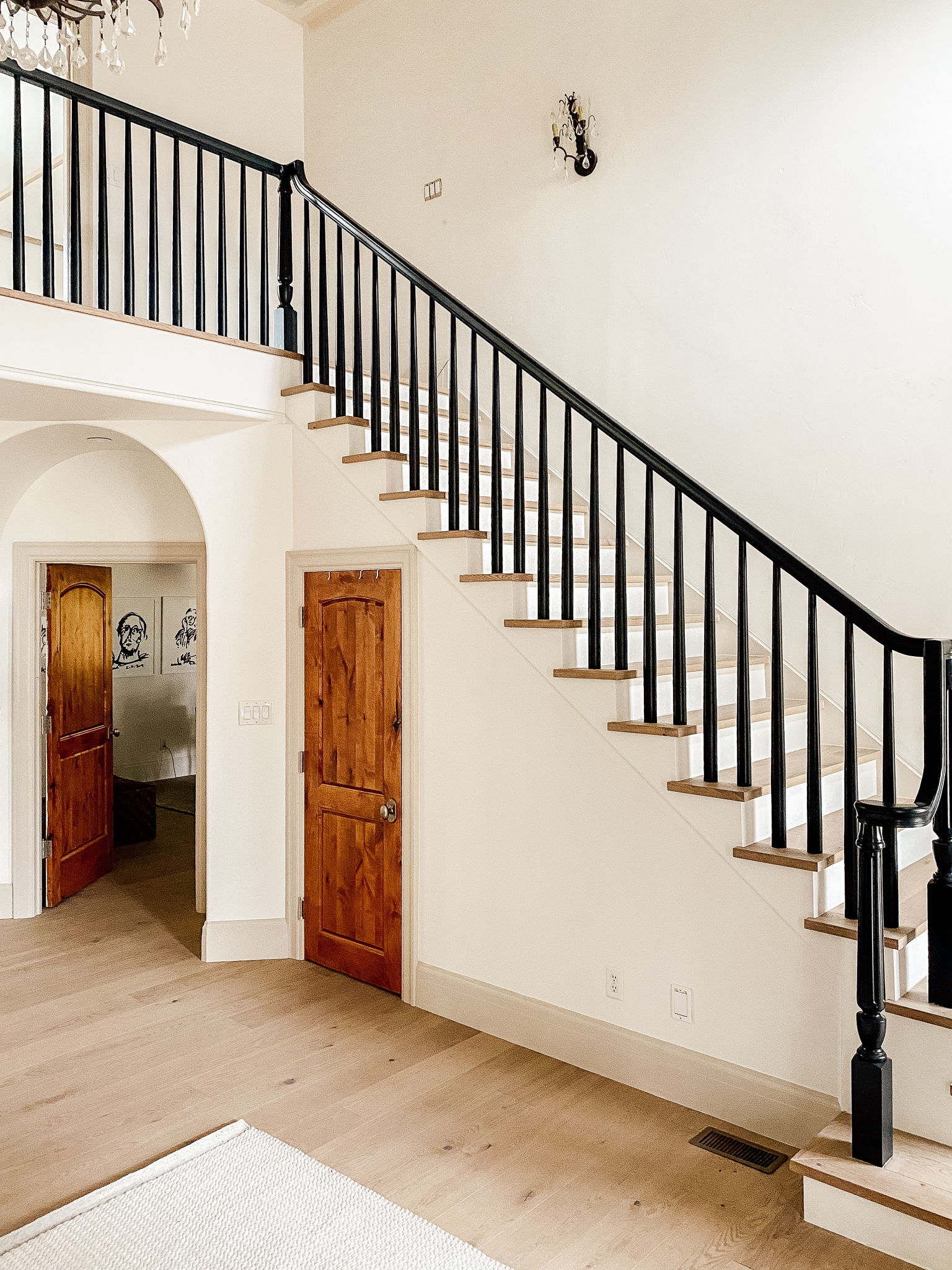How We Completely Updated Our Stair Railings By Only Swapping Out | Stair Railings Near Me | Steel | Metal Stair Parts | Deck | Spindles | Deck Railing