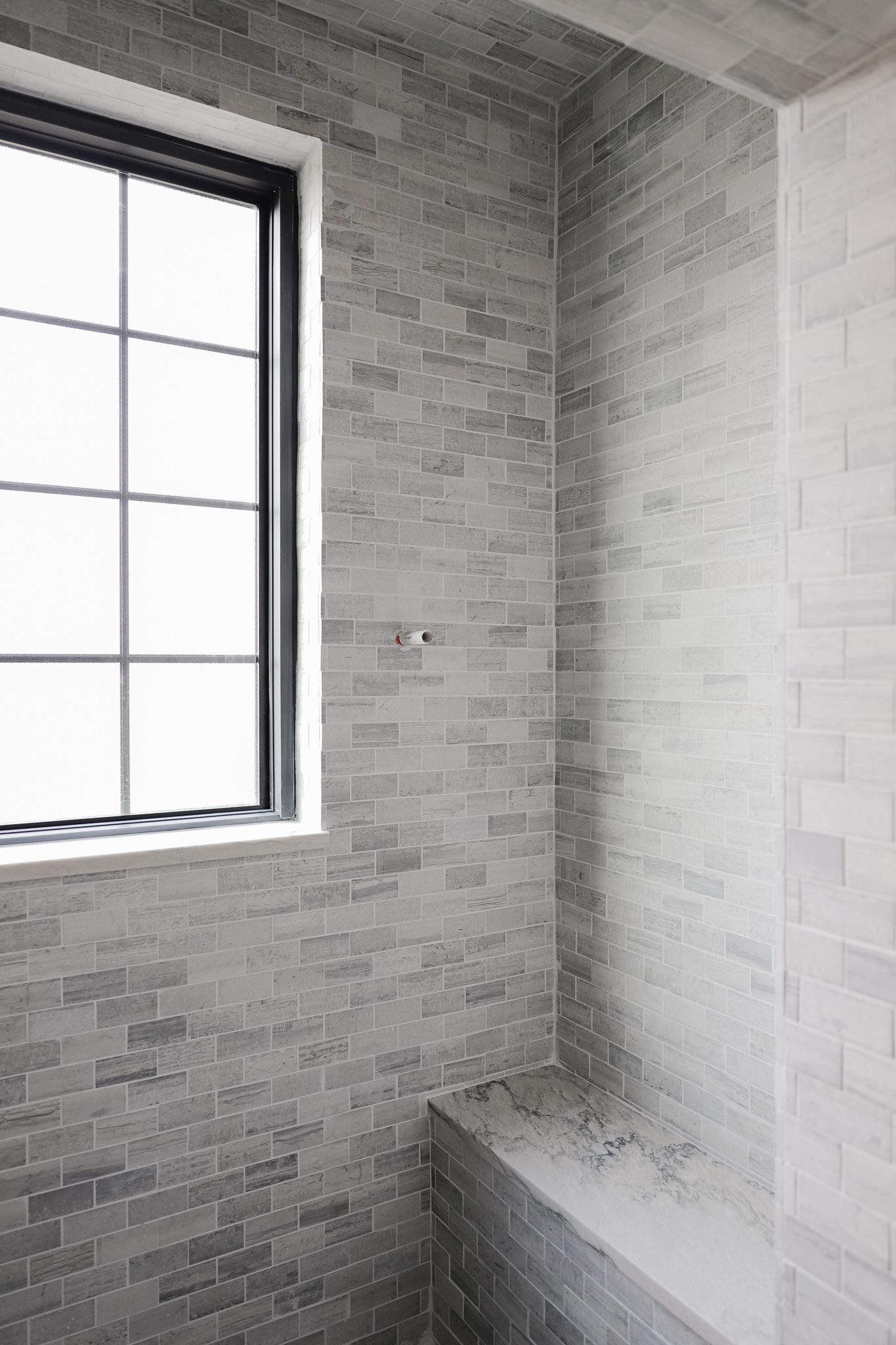 https www chrislovesjulia com how we mixed 5 different tiles in our bathroom