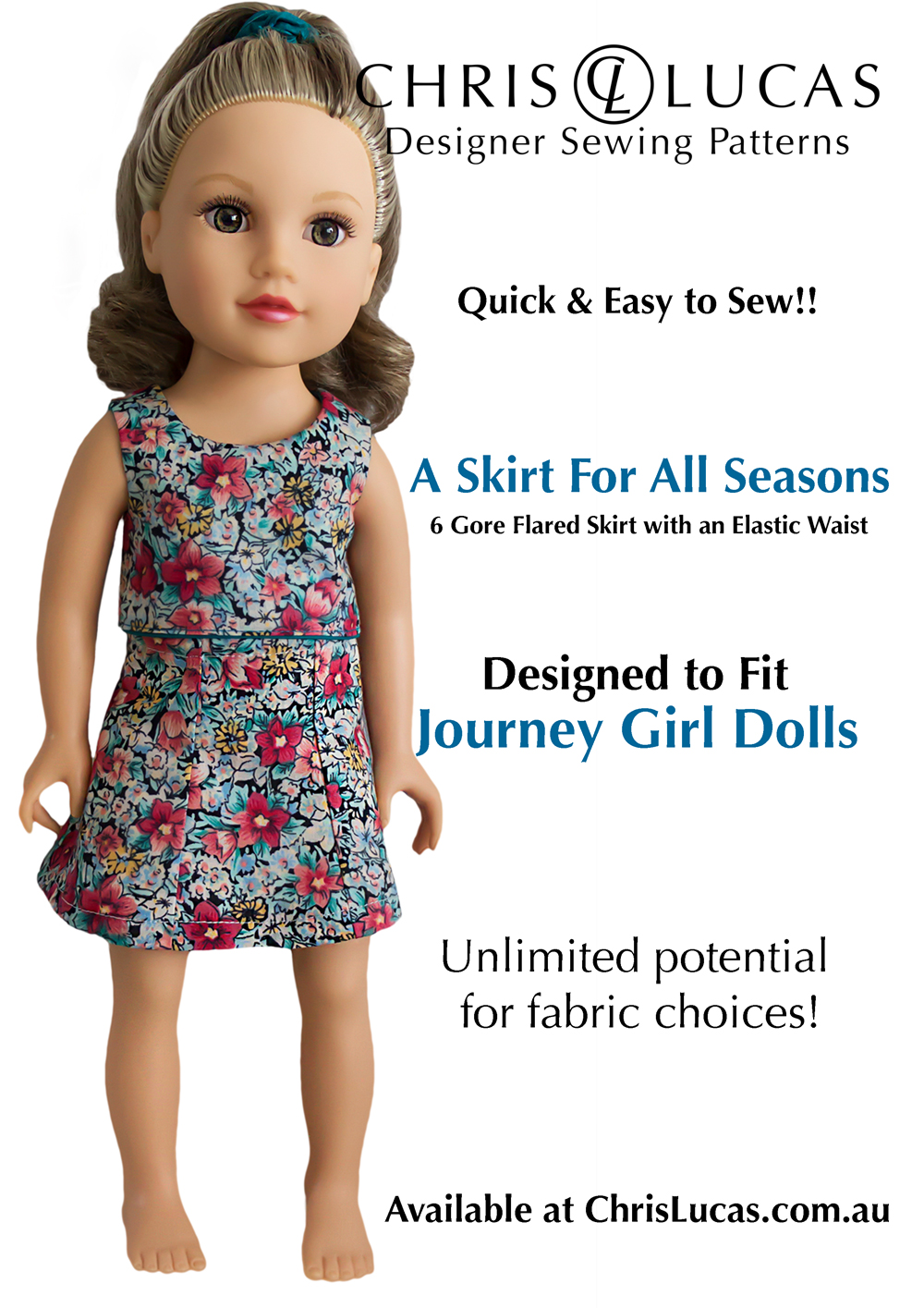 journey-girl-dolls-sewing-pattern-2-a-skirt-for-all-seasons-chris-lucas-designs