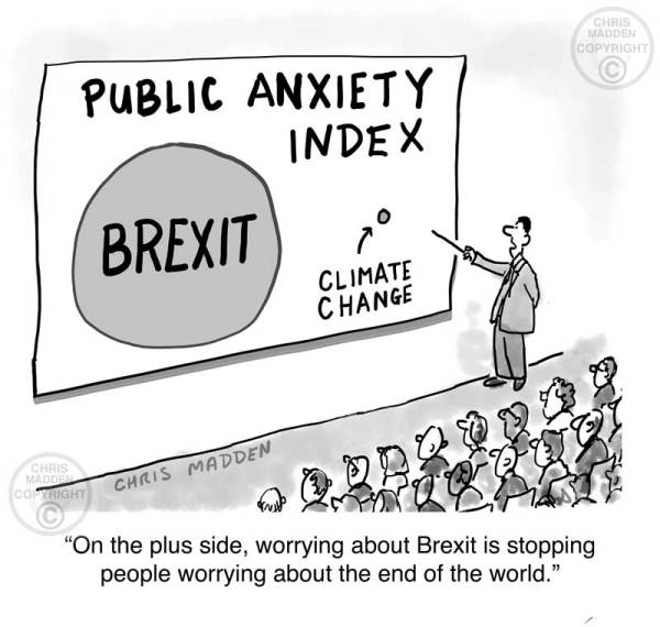 Brexit anxiety  as a displacement for climate change anxiety