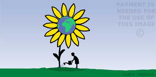 environment cartoon or illustration