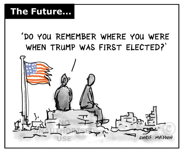 do you remember where you were when trump was first elected?