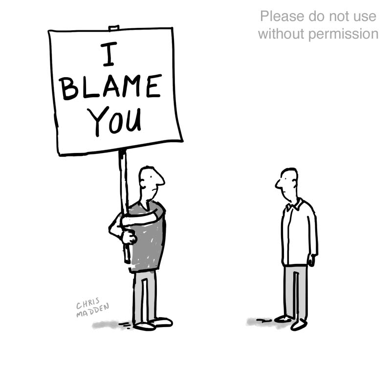 I blame you cartoon