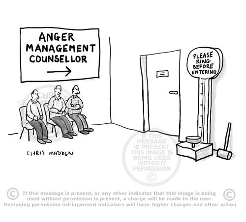 anger management counselling cartoon