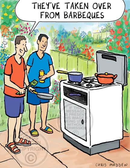 Barbecue cartoon