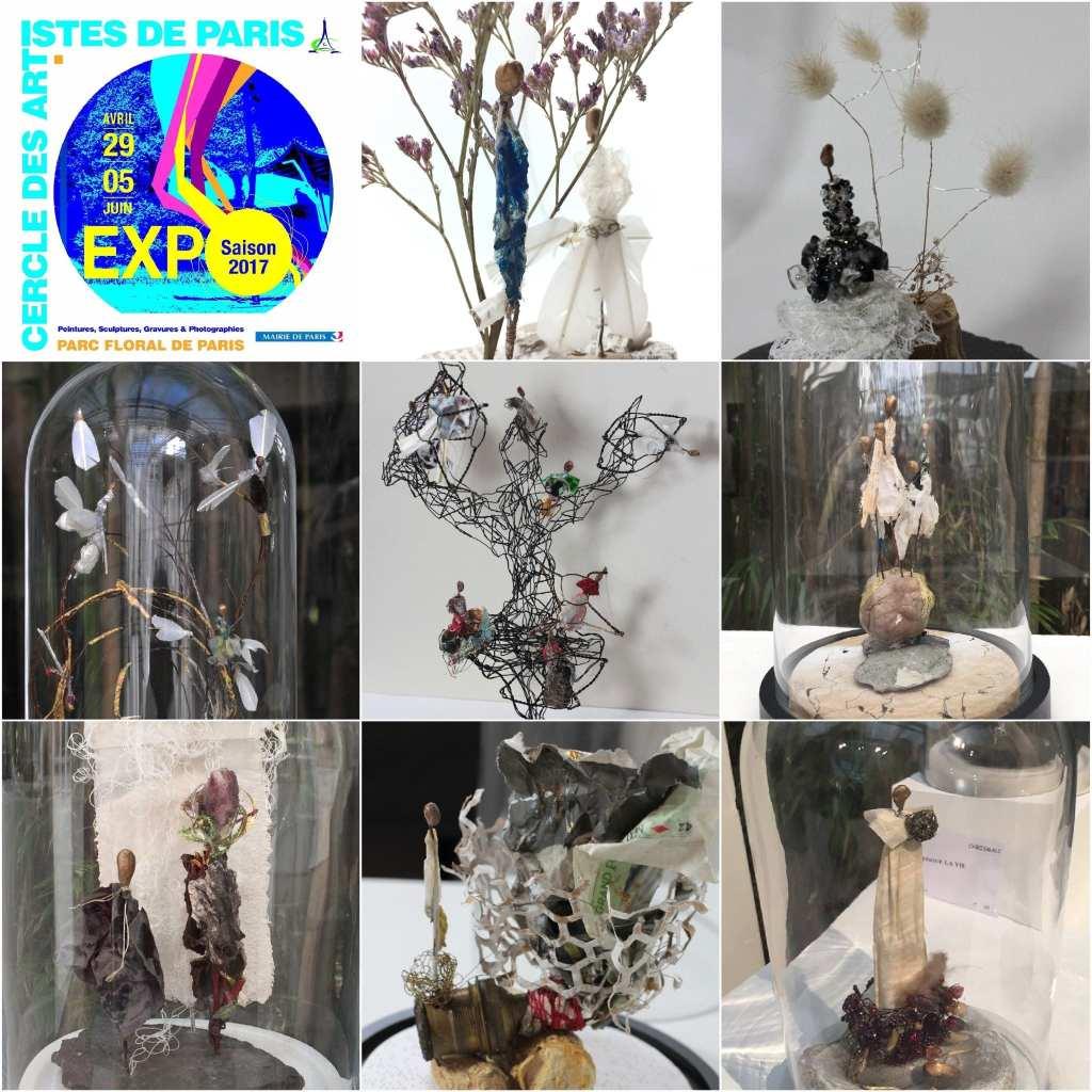 Chrismali expo Cercle des Artistes de Paris au Parc Floral
