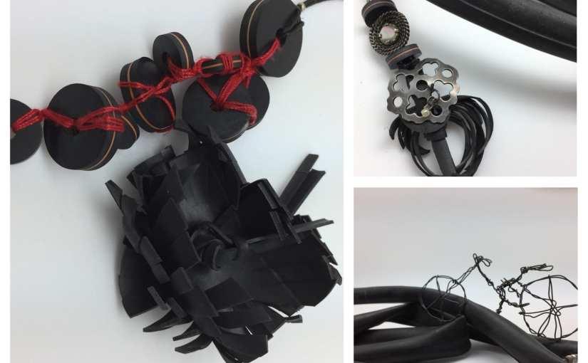 Détournement de vélos! Le cycle'art de Thillay et les bijou pneus Chrismali s'exposent à Paris
