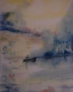 Claire Roure  - dans la brume