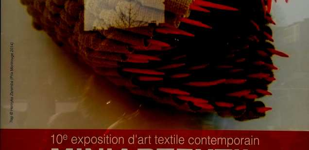 10 èm édition du salon miniartextile de Montrouge. une très belle exposition