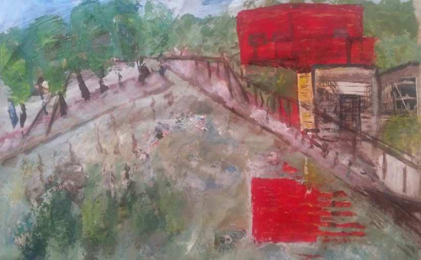 » Du 4 au 10 avril 2014, Chrismali expose et vous invite à l'exposition » Paris en couleur»  d' Aliz'Art , peintures, sculptures au «148 » à Alfortville