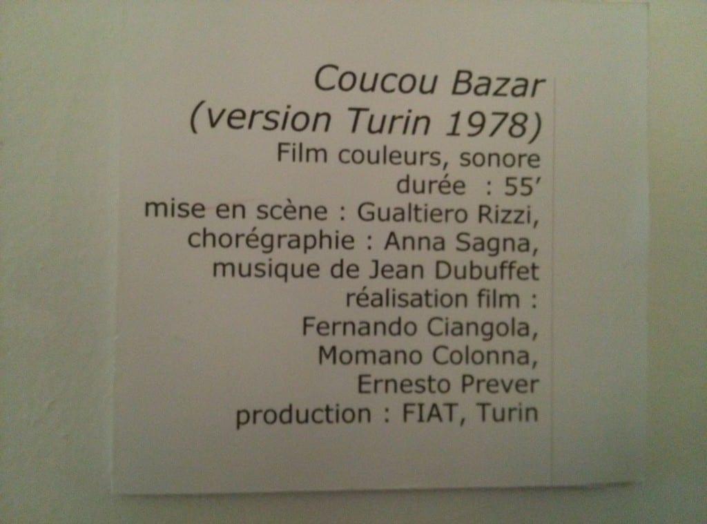 Coucou Bazar- détail de l'oeuvre