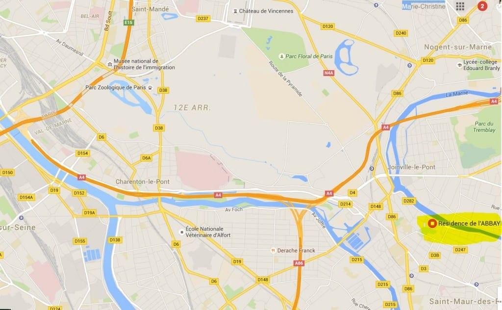 Plan Abbaye