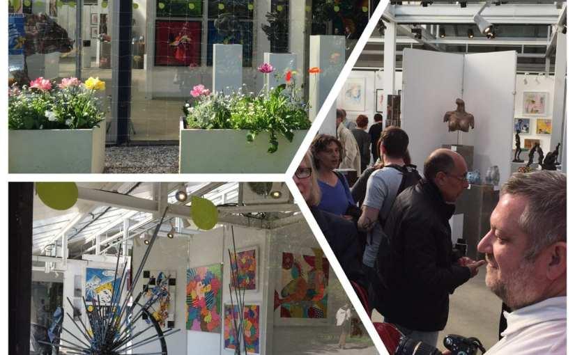 Exposition du Cercle des Artistes de Paris au Parc Floral de Vincennes – l'art pour tous