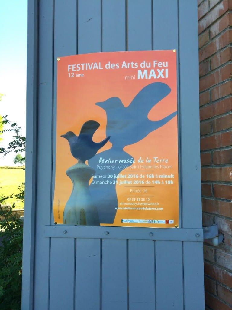 le festival des arts du feu à Puycheny