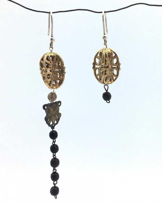 Bo-asymetrique-appret-argent-dore-perles-anciennes-recycle-chapelet