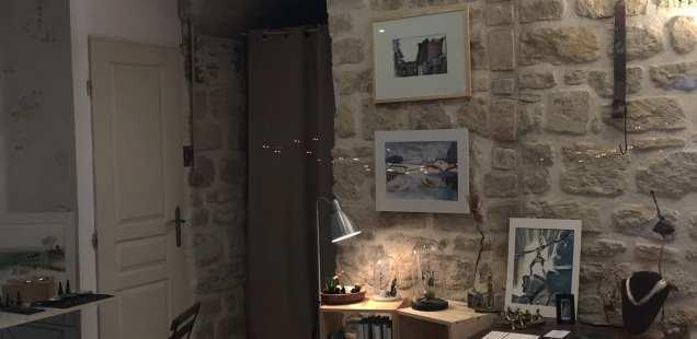 Visite d'atelier  16 et 17/12 - Univers Chrismali bijoux, sculptures, dessins - Paris 20