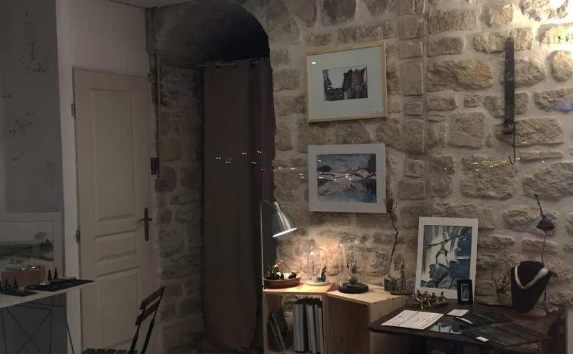 Visite d'atelier  16 et 17/12 – Univers Chrismali bijoux, sculptures, dessins – Paris 20