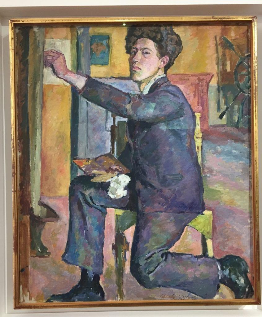 Giacometti-autoportrait