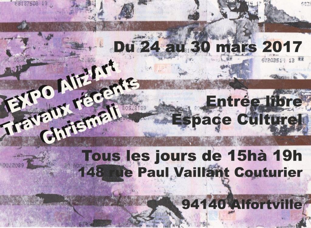 affiche-expo-aliz-art-chrismali-stif