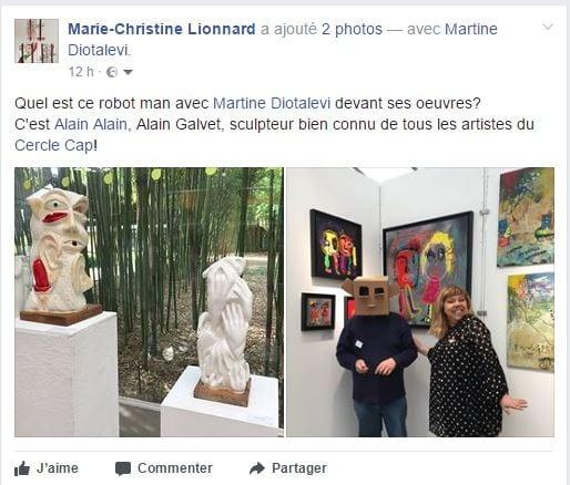 Alain Galvez, Martine Diotalevi