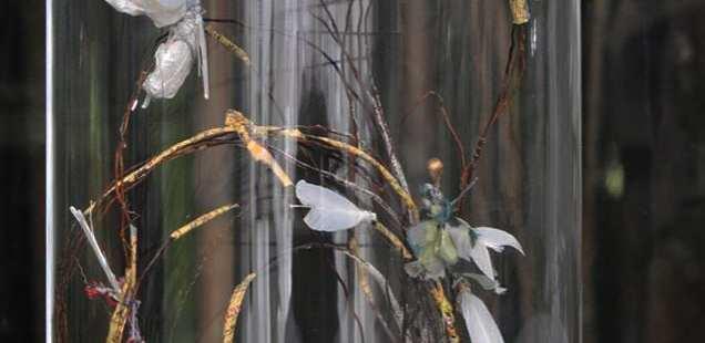 Les petits mondes -expo Cercle des Artistes au Parc Floral