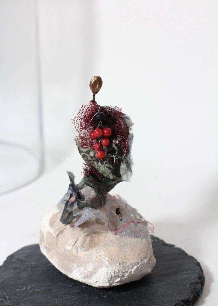 Chrismali- la dame aux fruits- expo du cercle des artiste de Paris
