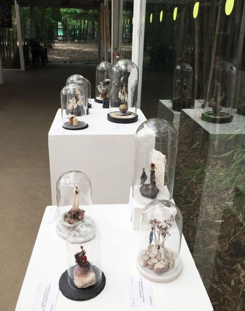 Chrismali les petits mondes expo du cercle des artistes de Paris