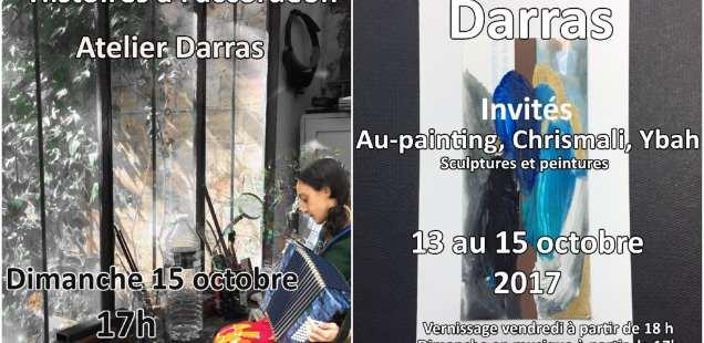 Dans l'atelier Darras, il y a ..... Portes ouvertes de Montreuil 13,14,15 octobre 2017