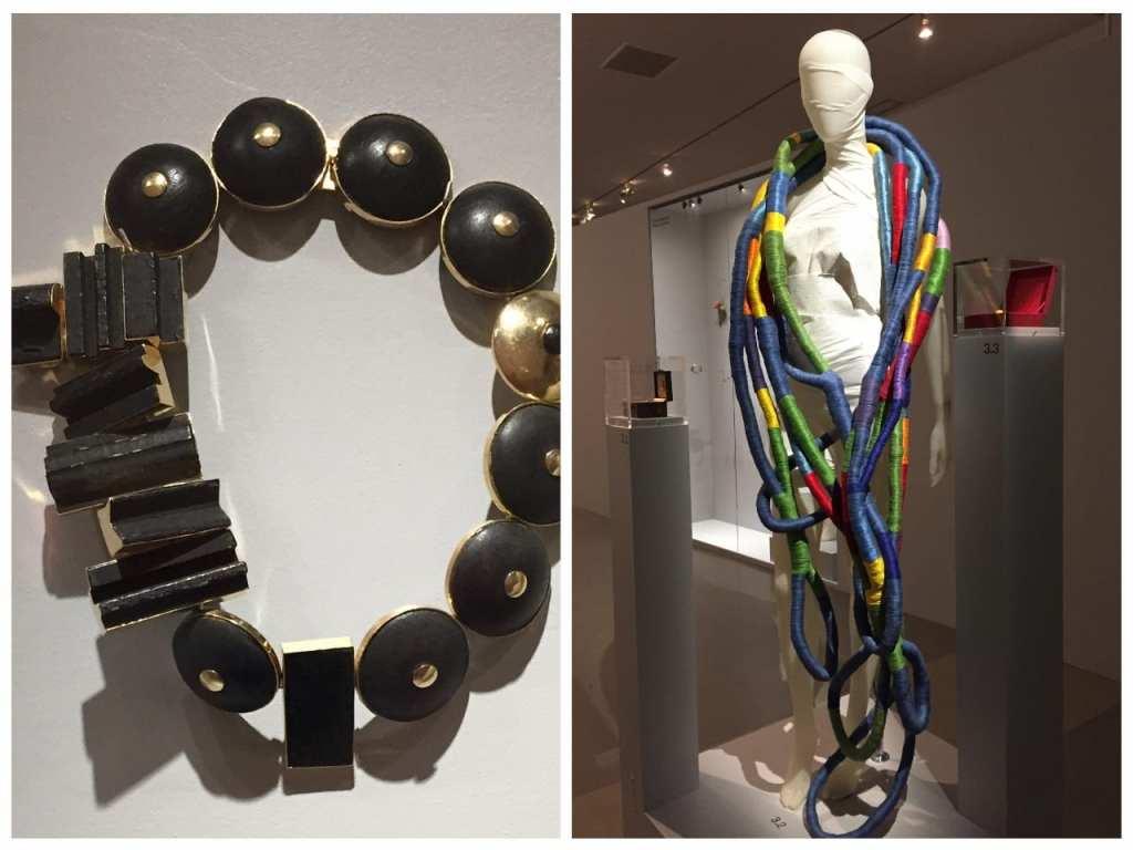 collier textile Sheila Hicks