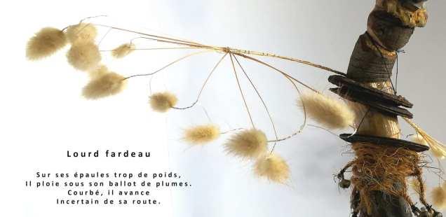 Petits mondes - Bulles de vie en poésie et exposition Fady Ferhi Chrismali