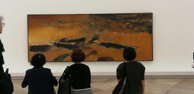 Zao Wou-Ki - L'espace est silence Musée d'Art Moderne de la Ville de Paris