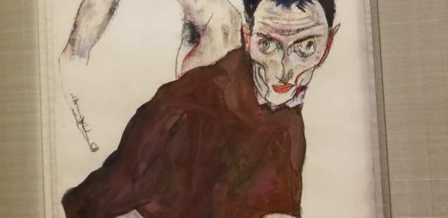 Egon Schiele - Souvenirs -Fondation Louis Vuitton