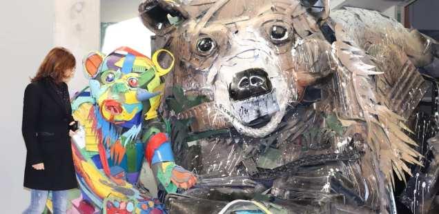Bordalo II - street artiste engagé - Expo Galerie Mathgoth