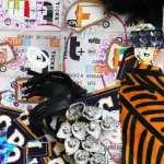 Art et bijoux - collage de bijoux