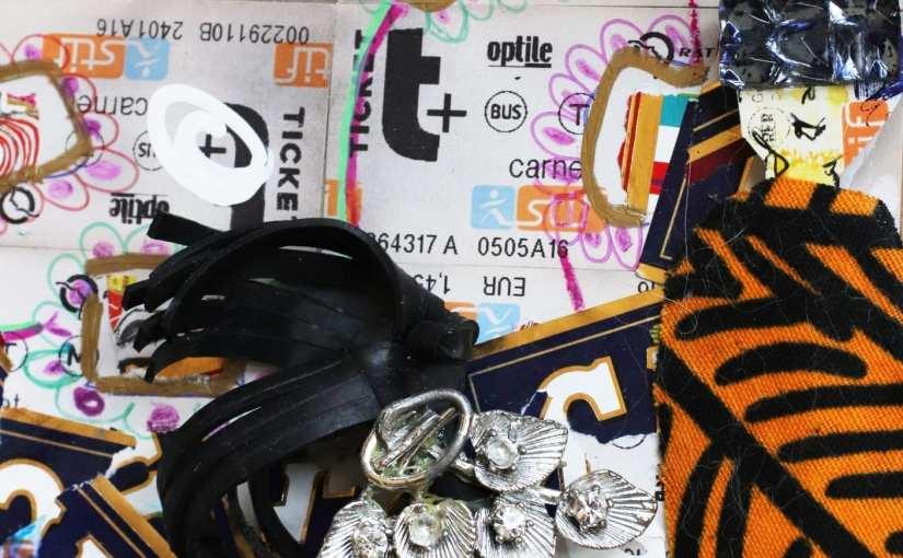 Art et bijoux – collage de bijoux