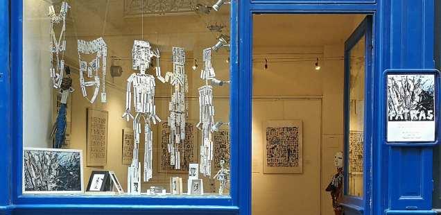 Chrismali - Expo Fatras -Galerie Espace le Marais
