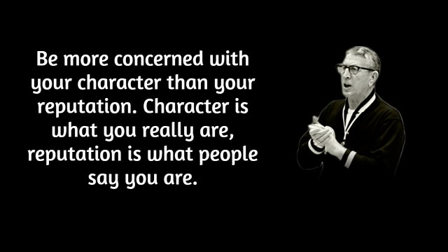 10 Quotes on Character from John Wooden