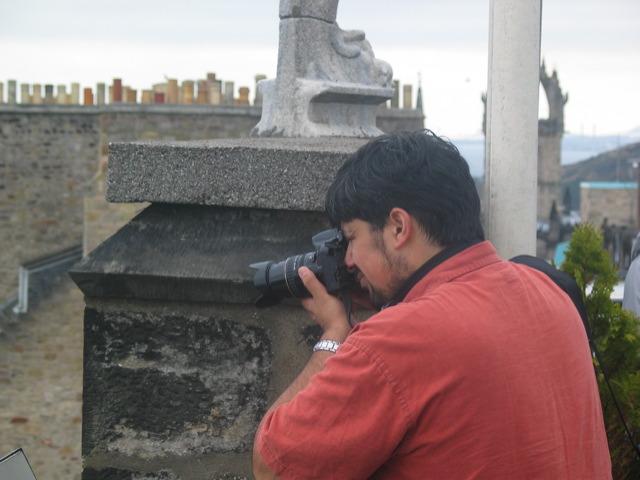 Anu with camera