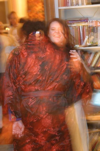 """Mav and """"Elizabeth"""" at Jammy Jam '04"""