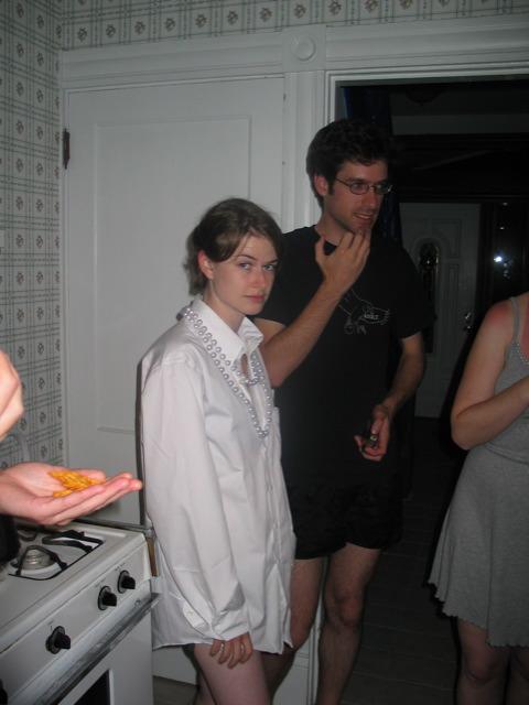 Joe and Justina at Jammy Jam '04