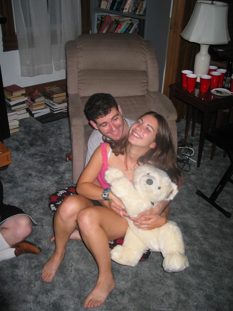 Meron and Marli at Jammy Jam '04