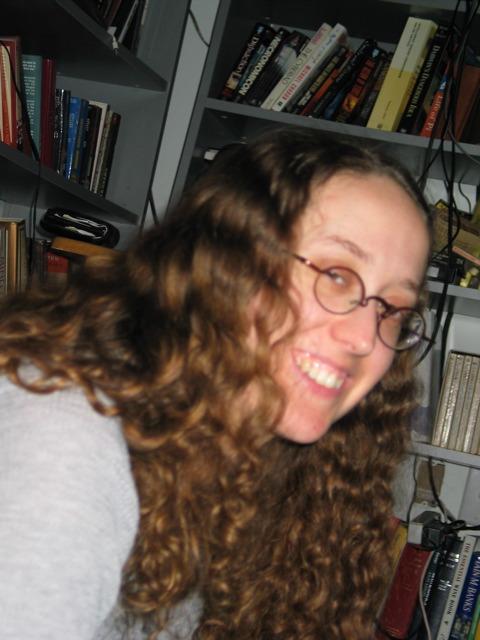 Dana smiles