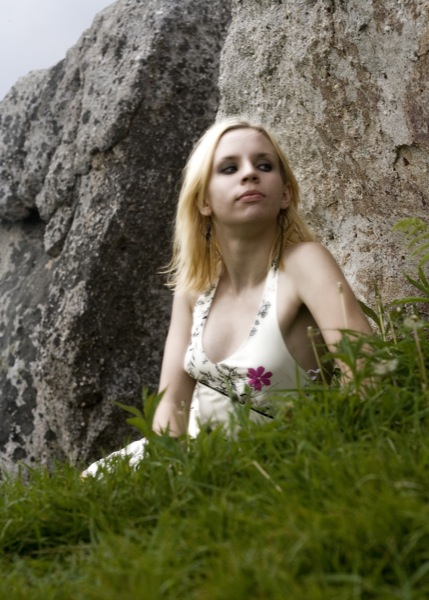 Amaya in the grass