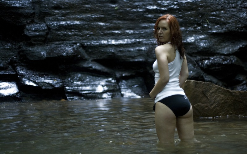 Laurie wading 3