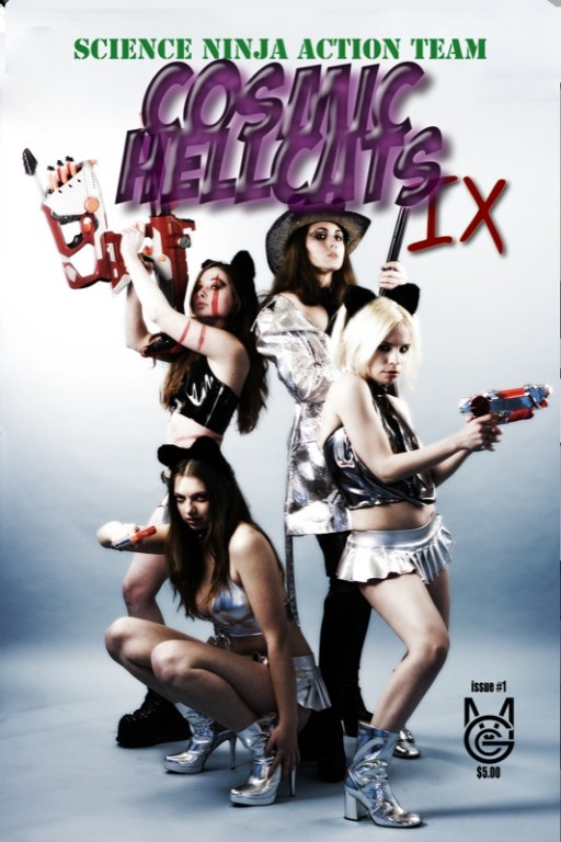 Cosmic Hellcats Cover