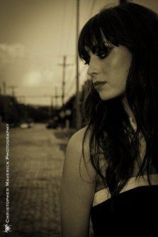 Model: Ashley Elizabeth Frohnert Photographer: Chris Maverick Date: 6/13/10 Location: Lite Guy Studios