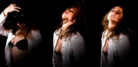 Liz triptych