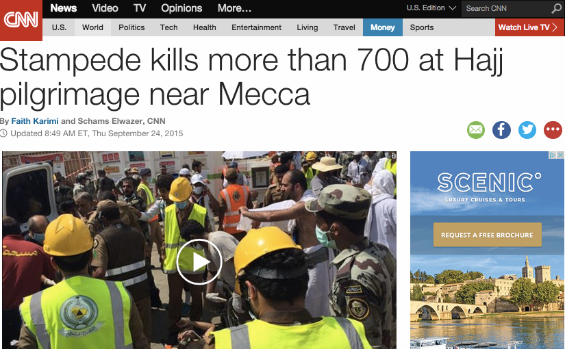 Pray For The Hajj Victims' Families